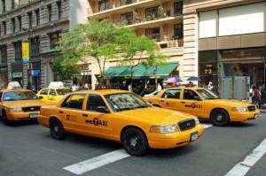 Нью-Йоркское такси FORD,